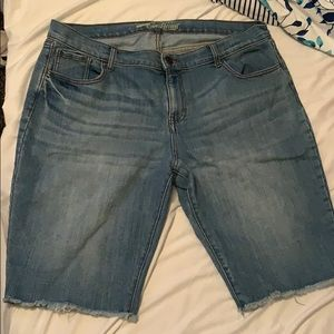 Old Navy Knee Length Shorts